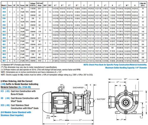 AMT/Gorman Rupp Heavy Duty Cast Iron Straight Centrifugal Pumps
