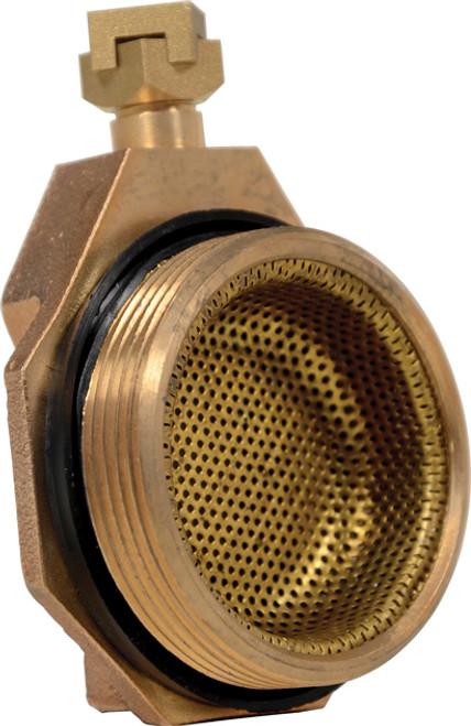 Vestil Horizontal Brass Drum Vent