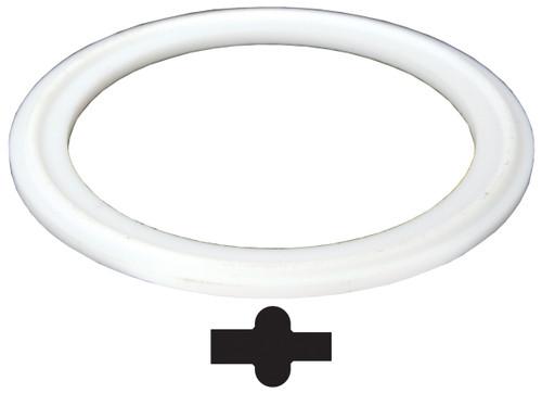 Dixon Sanitary PTFE (Teflon) Pipe Gaskets - White