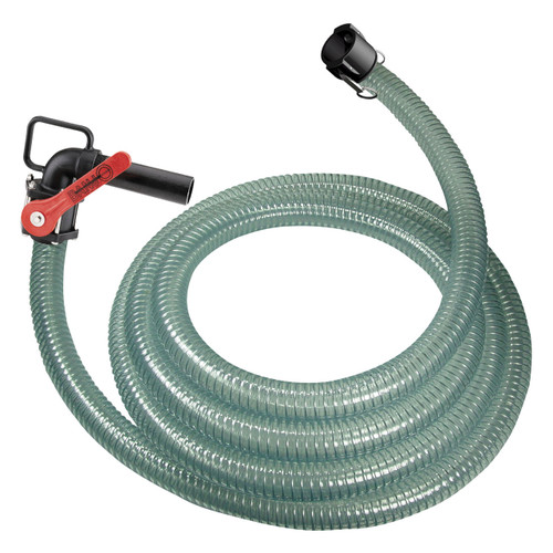 1 1/2 in. PVC DEF Hose Assembly w/ 2 in. Part C Coupler X Nozzle