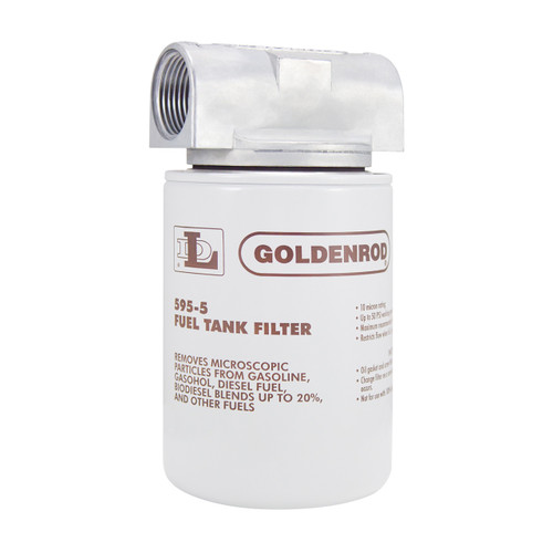 Goldenrod 595 Series Standard Spin-On Fuel Filter - 10 Micron