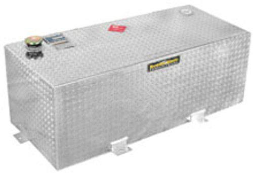 Better Built 100 Gallon Rectangle Aluminum Fuel Transfer Tank