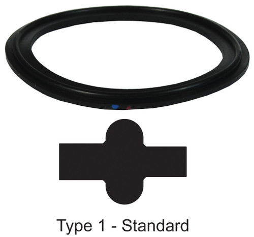 Dixon Sanitary Metal Detectable Buna-N Gaskets