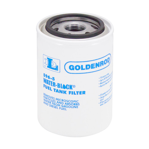 Goldenrod 596 Series Water-Block Filter Replacement Canister - 10 Micron