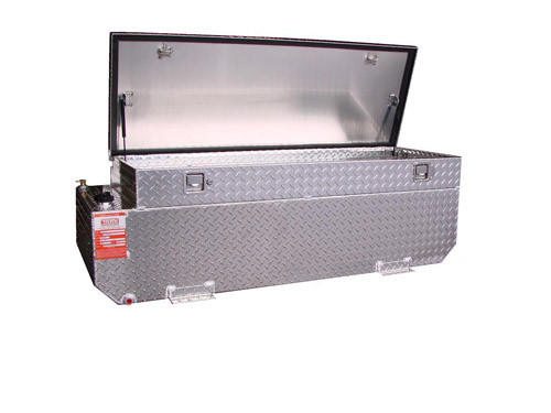 65 Gallon Diesel Auxiliary Tank/Toolbox Combo w/ Install Kit