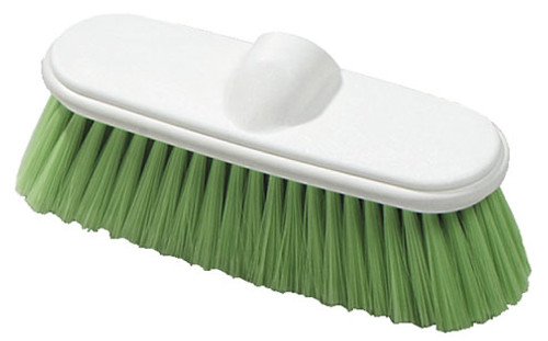 Carlisle Sanitary Maintenance Products 9 1/2 in. Long Flo-Pac Flo-Thru Nylex Brush With Flagged Nylex Bristles