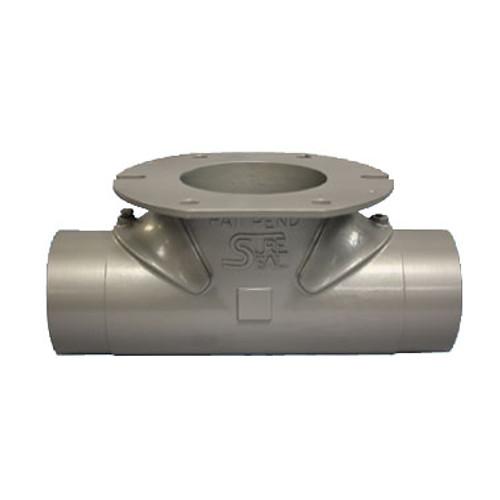 Civacon Rhino-T Cast Steel 5 in. Reversible Hopper Tee