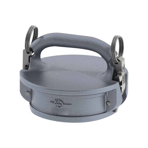 PT Coupling Aluminum Female Safety Cap w/ Brass Cam Arms
