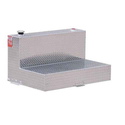 47 Gallon DOT Aluminum L-Shaped Refueling Transfer Tank