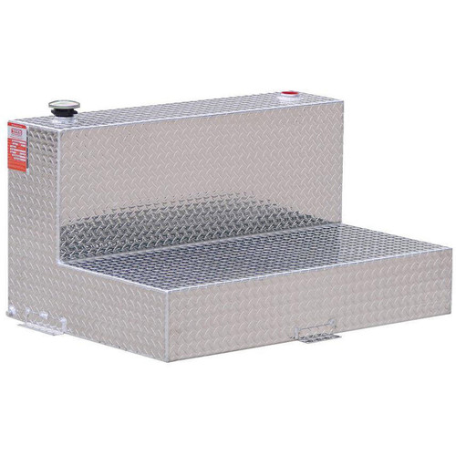 100 Gallon DOT Aluminum L-Shaped Refueling Transfer Tank