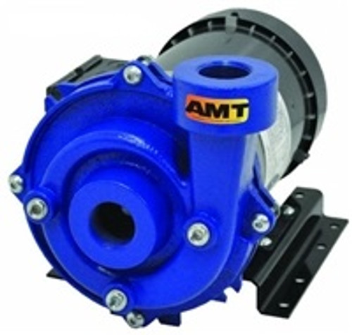 AMT/Gorman Rupp Cast Iron Straight Centrifugal End Suction Chemical Pumps