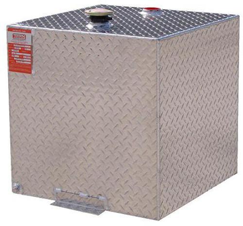 55 Gallon DOT Aluminum Square Refueling Transfer Tank