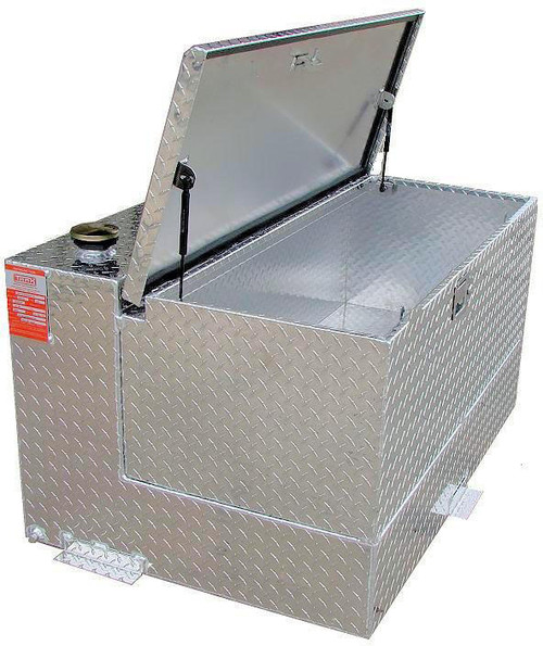 50 Gallon DOT Aluminum Combo Refueling Transfer Tank