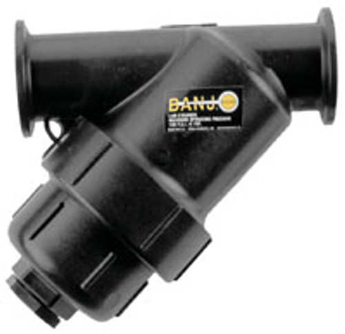 Banjo 2 in. Manifold Standard Port Flanged Y Strainers