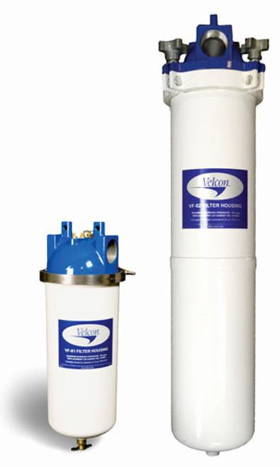 parker velcon cleandiesel vf-61 & vf-62 filtration housing - john m   ellsworth co  inc