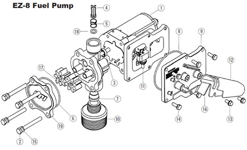 Incredible Gpi Ez 8 Pump Overhaul Kit John M Ellsworth Co Inc Wiring 101 Hemtstreekradiomeanderfmnl