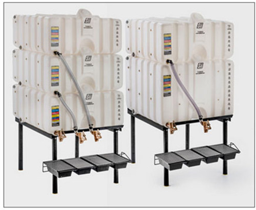 Snyder Industries Cubetainer Stackable Tanks - Gravity Feed Packages