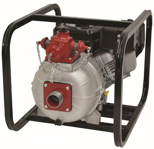 AMT/Gorman Rupp 2 in. Aluminum Engine Driven Two Stage High Pressure Fire Pump - 160 GPM