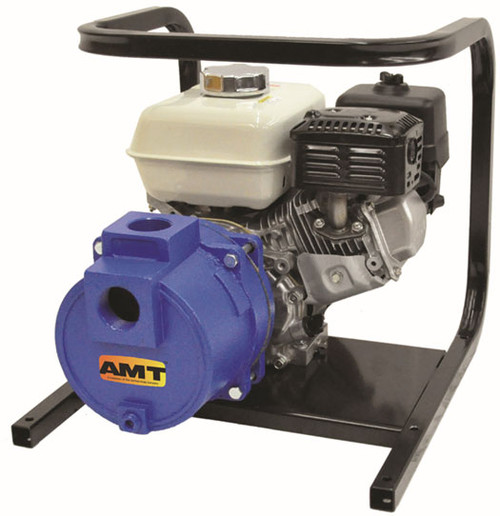 AMT/Gorman Rupp 1-1/2 in. Cast Iron Engine Driven Two Stage High Pressure Pump - 68 GPM