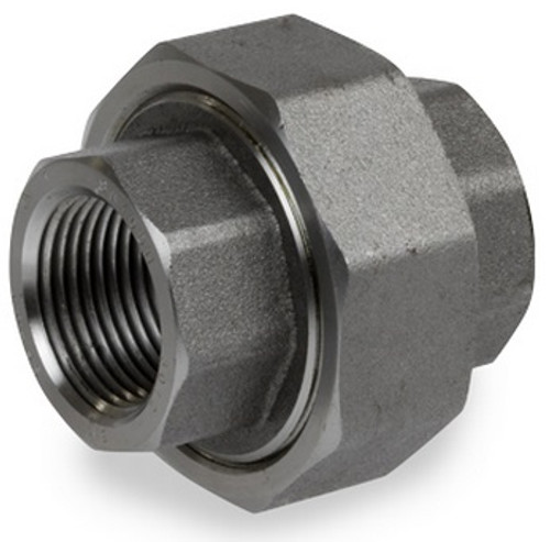 Smith Cooper 6000# Forged Carbon Steel 1 1/2 in. Union Fitting -Threaded
