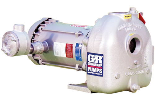 Gorman-Rupp 2 in. O Series Cast Iron Self Priming Centrifugal Pump - up to 130 GPM