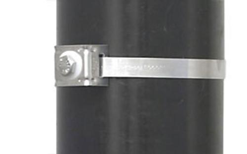 BAND-IT Flared and Straight Leg Mini Brack-Its w/ 304SS Bolt & Fiber Washer