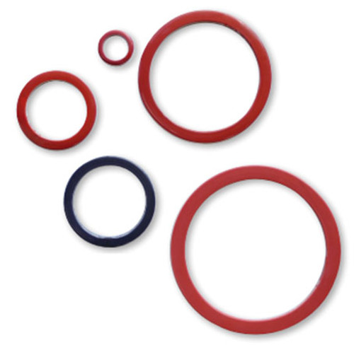 Rubber Fab FEP Encapsulated Silicon Camlock Camlock Gaskets