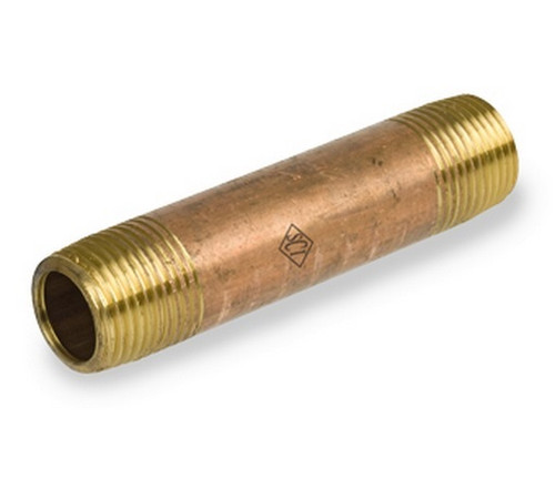 Smith Cooper Brass Schedule 40 Seamless Pipe Nipples