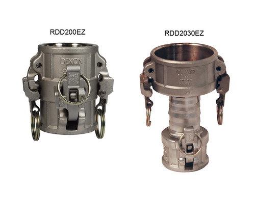 Dixon Stainless Steel EZ Boss-Lock Spool Couplers