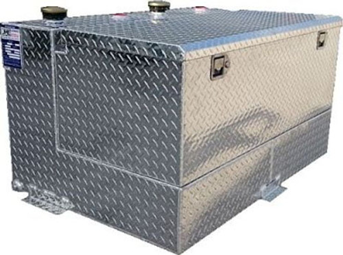 95 Gal. DOT Aluminum Split Transfer Tank with Toolbox