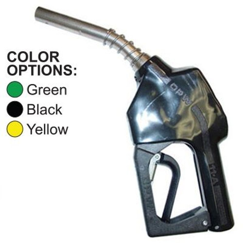 OPW 11A Automatic Diesel Nozzle With Hold Open Clip Non-UL