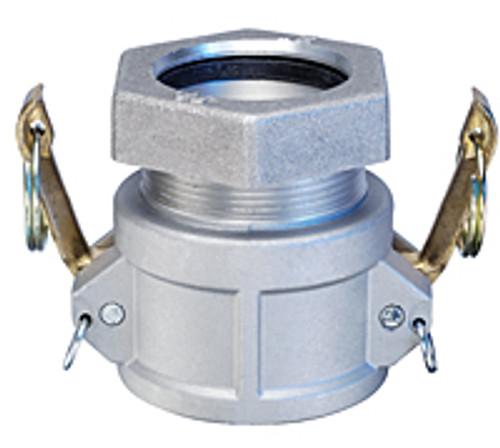 Aluminum Female Coupler x Compression