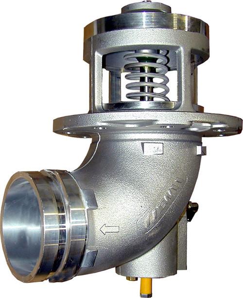 Emco Wheaton F7020 & F7021 4 in. 90° Elbow Pneumatic Emergency Valve