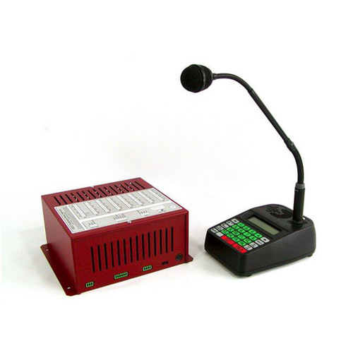 ESCO 8, 12 & 16 Speaker Intercom Station w/ Controller