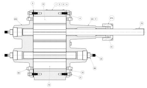 Roper Pumps Model 5600 Pump Replacement Parts