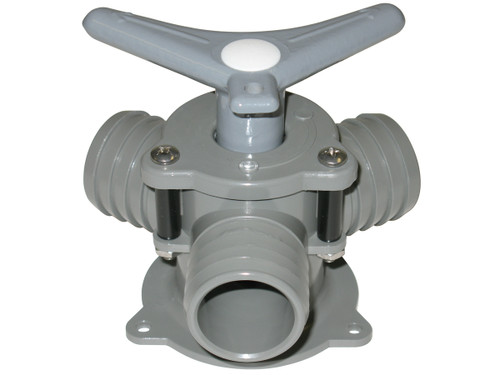 Bosworth Sea-Lect YV-095D-B 1-1/2 in. Base Mount Y-Valve w/ Aluminum Handle