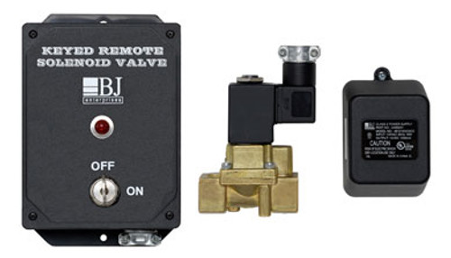 BJ Enterprises Keyed Remote Air Solenoid Valve System
