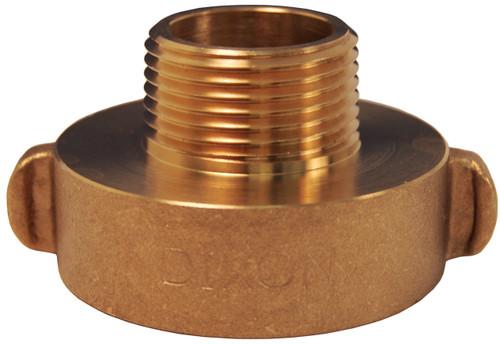 Dixon 1 1/2 in. Female x Male Brass Rocker Lug  Hydrant Adapters