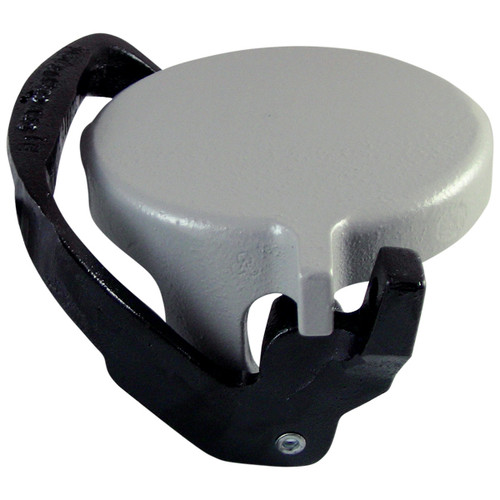 OPW 634LPC 4 in. Grey Profile Top-Seal Fill Cap