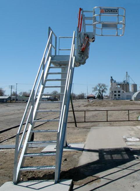 SafeRack Single Pedestal Platform Systems