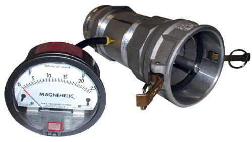 Test Coupling & Magnehelic Gauge Assembly