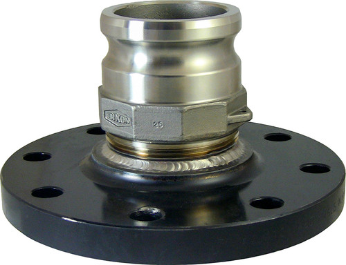 4 in. Carbon Steel 150# Raised Face Flange x 3 in. Male Adapter