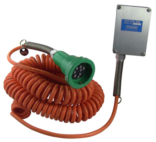 Civacon Green Thermistor Hardwire Junction Box System w/ Coiled Cord