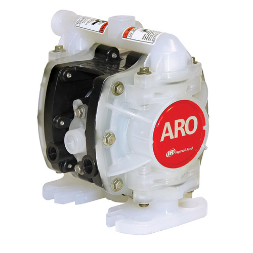 ARO 1/4 in. Polypropylene Non-Metallic Air Diaphragm Pump w/ PTFE Diaphragm