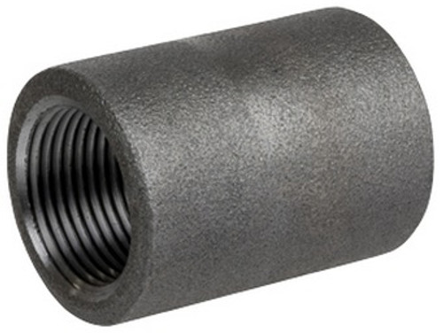 Smith Cooper 3000# Forged Carbon Steel 1 1/2 in. Coupling Fitting - Threaded