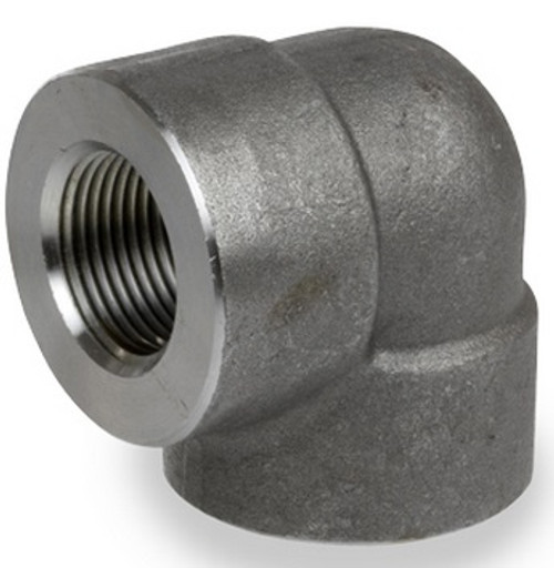 Smith Cooper 6000# Forged Carbon Steel 1 in. 90° Elbow Fitting - Threaded