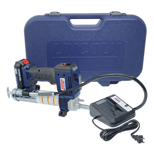 Lincoln Industrial Model 1882 PowerLuber 20V Lithium-Ion Grease Gun Kit