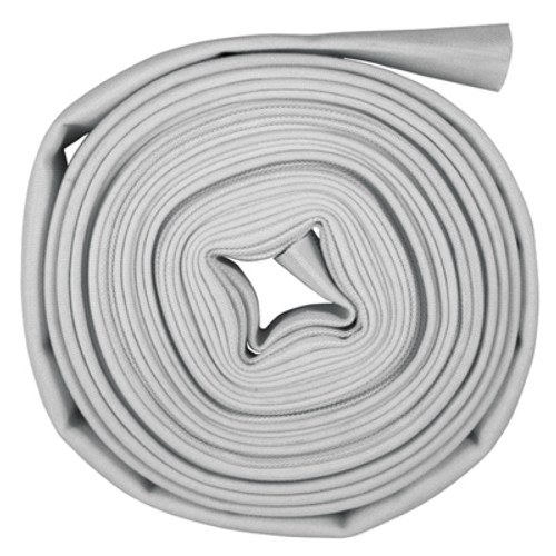 Superior Fire Hose 2 in. Single Jacket Mill Hose Uncoupled