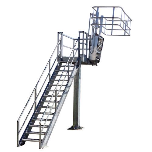 Green Galvanized Steel Insta-Rack Platform