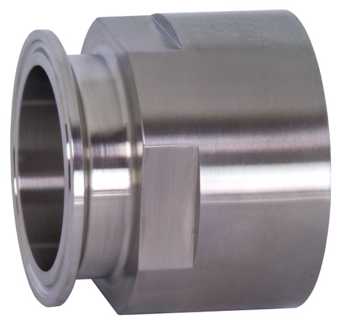 Dixon Sanitary 22MP Series 304 Stainless 4 in. Clamp x Female NPT Adapters